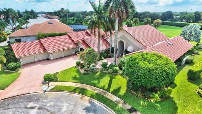 Boca Raton Single Family Home For Sale: 4832 Chamal Circle