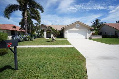 Boca Raton Single Family Home For Sale: 23306 Boca Chica Circle