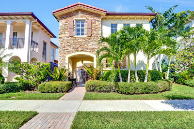 Palm Beach Gardens Single Family Home For Sale: 19 Stoney Drive