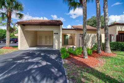 Boca Raton Single Family Home For Sale: 21754 Cypress Drive #19-A