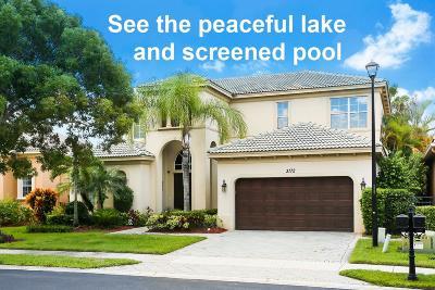 West Palm Beach Single Family Home For Sale: 3172 Santa Margarita Road