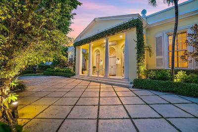Palm Beach Single Family Home For Sale: 1020 Ocean Boulevard