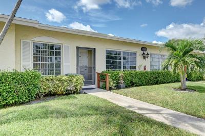 Delray Beach Single Family Home For Sale: 13893 Via Aurora #B