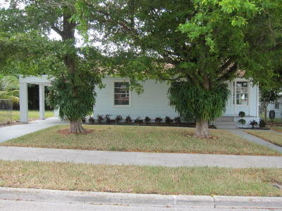 West Palm Beach Single Family Home For Sale: 932 31st Street