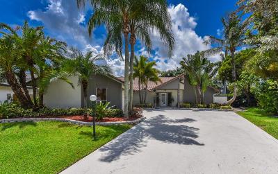 Palm Beach Gardens Single Family Home For Sale: 2852 Bayonne Drive