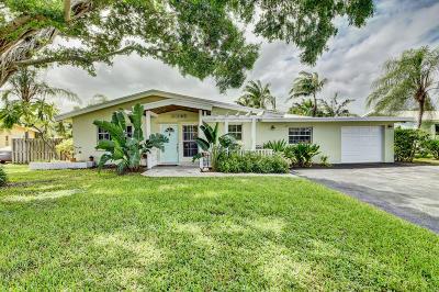 Boynton Beach Single Family Home For Sale: 3307 Fernwood Drive