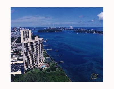 West Palm Beach Rental Leased: 5200 Flagler Drive #902
