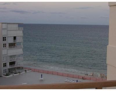 Palm Beach Rental Leased: 3560 S Ocean Boulevard #908