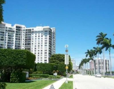 West Palm Beach Rental Leased: 1701 S Flagler Drive #1704