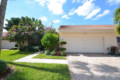 Boca Raton Single Family Home For Sale: 19490 Sawgrass Drive #1801
