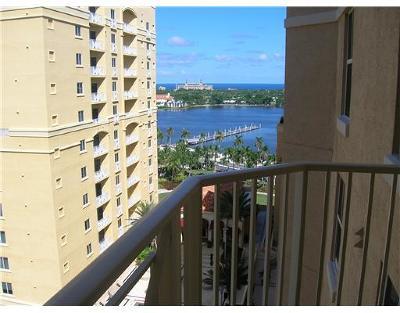 West Palm Beach Rental Leased: 255 Evernia Street #1319