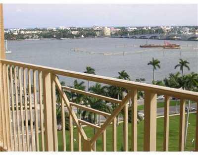 West Palm Beach Rental Leased: 255 Evernia Street #808