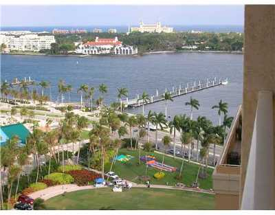 West Palm Beach Rental Leased: 255 Evernia Street #1302