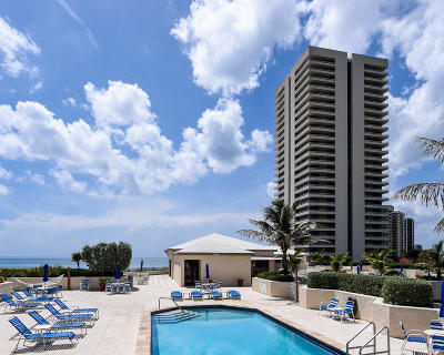 Singer Island Rental For Rent: 5510 Ocean Drive #21-C
