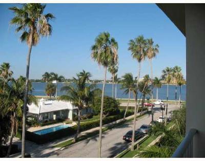 West Palm Beach Rental Leased: 917 Flagler Drive #403