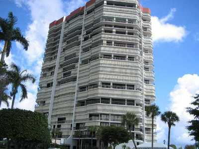 West Palm Beach Rental Leased: 1900 Consulate Place #1605