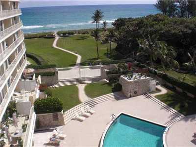 Palm Beach Rental Leased: 2774 S Ocean Boulevard #610