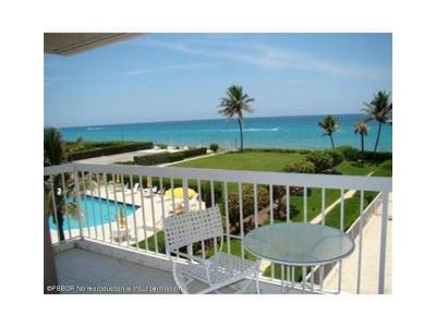 Palm Beach Rental Leased: 3250 S Ocean Boulevard #306 N