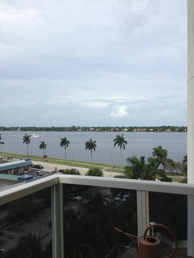 West Palm Beach Rental Leased: 1617 Flagler Drive #701