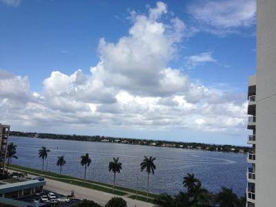 West Palm Beach Rental Leased: 1617 Flagler Drive #801