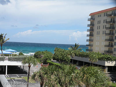 Palm Beach Rental Leased: 3460 S Ocean Boulevard #308