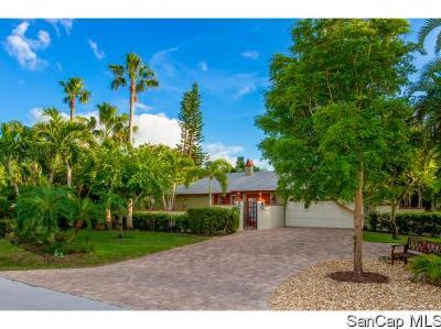 Sanibel Single Family Home For Sale: 1478 Albatross Rd