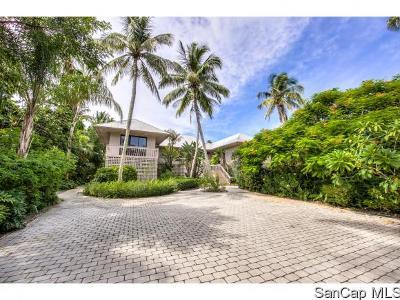 Sanibel Single Family Home For Sale: 5075 Joewood Dr