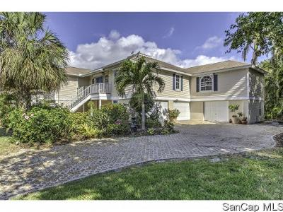 Sanibel Single Family Home For Sale: 1183 Kittiwake Cir