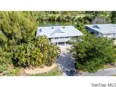 Sanibel Single Family Home For Sale: 1350 Middle Gulf Dr #F2