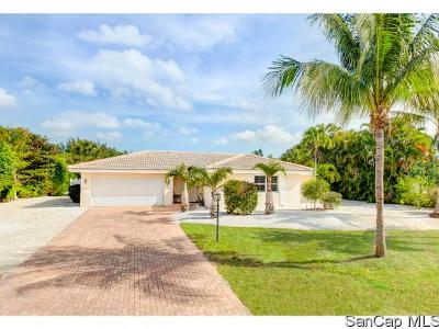 Sanibel Single Family Home For Sale: 830 Angel Wing Dr