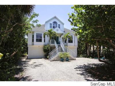 Sanibel Single Family Home For Sale: 5280 Umbrella Pool Rd