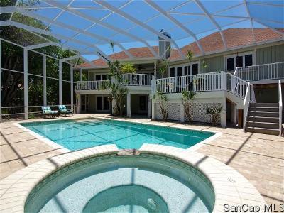 Sanibel Single Family Home For Sale: 485 Lake Murex Cir