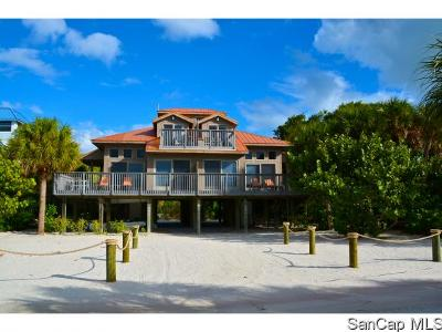 Captiva Single Family Home For Sale: 543 Gulf Ln