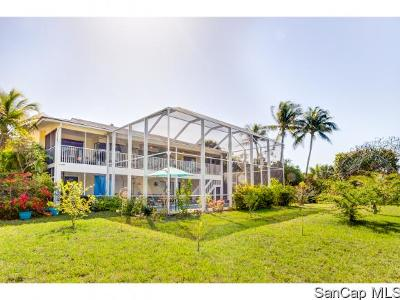Sanibel Single Family Home For Sale: 673 East Rocks