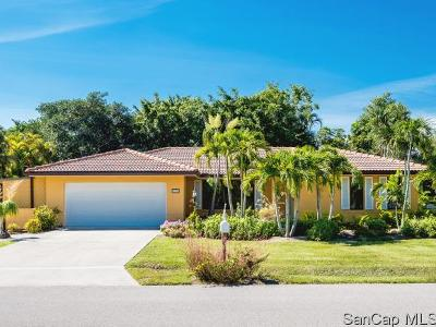 Sanibel Single Family Home For Sale: 1550 Bunting Ln