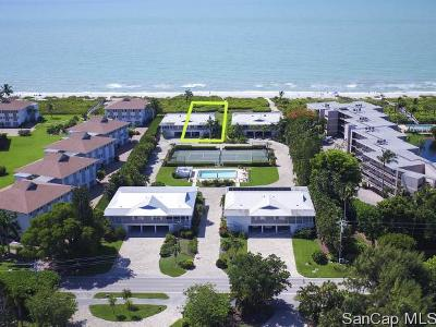 Sanibel Single Family Home For Sale: 1351 Middle Gulf Dr #2C