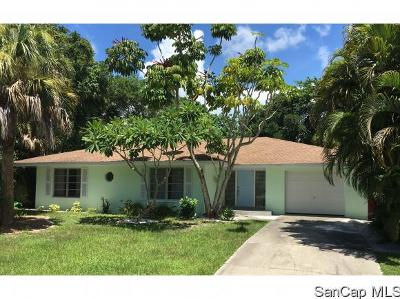 Sanibel Single Family Home For Sale: 1938 Roseate Ln