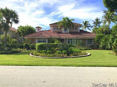 Sanibel Single Family Home For Sale: 1314 Par View Dr