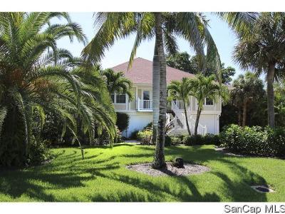 Sanibel Single Family Home For Sale: 1396 Tahiti Dr