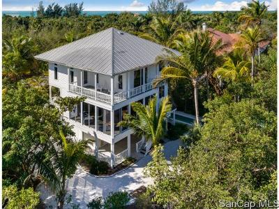 Sanibel Single Family Home For Sale: 6412 Pine Ave