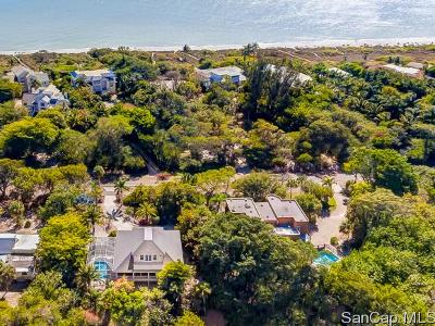 Sanibel Single Family Home For Sale: 3386 W Gulf Dr