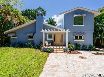 Captiva Single Family Home For Sale: 11535 Wightman Ln