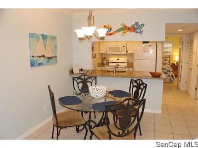 Sanibel Condo For Sale: 805 E Gulf Dr #F2