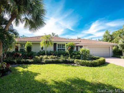 Sanibel Single Family Home For Sale: 529 Lighthouse Way