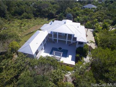 Sanibel Single Family Home For Sale: 3009 Turtle Gait Ln