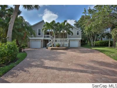 Sanibel FL Single Family Home For Sale: $895,000