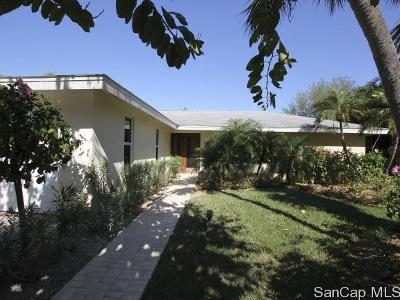 Sanibel Single Family Home For Sale: 734 Anchor Dr