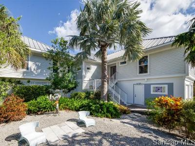 Sanibel Single Family Home For Sale: 1114 Captains Walk St