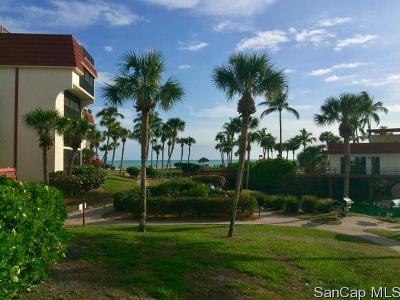 Sanibel Condo For Sale: 2445 West Gulf Dr #D6