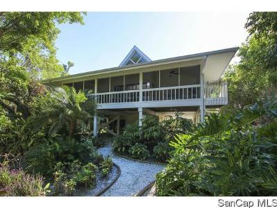 Sanibel Single Family Home For Sale: 1008 Demere Ln